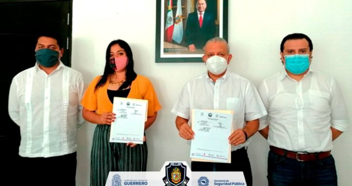 FIRMAN LA SSP GUERRERO E ICATEGRO CONVENIO DE COLABORACIÓN PARA CAPACITAR A MUJERES DE 12 MUNICIPIOS