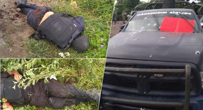 Se cumple un año de la masacre de policías en Aguililla, ¿y de los responsables? Poco o nada se sabe