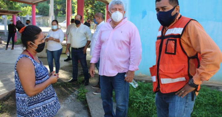 EL GOBIERNO MUNICIPAL DE PETATLÁN, REMODELA Y AMPLIA EL KINDER DE LA COMUNIDAD DE RIO CHIQUITO.