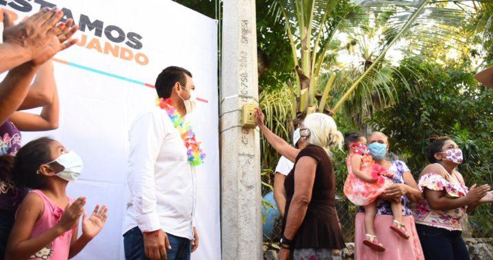 Jorge Sánchez lleva apoyos y obras a Buena Vista