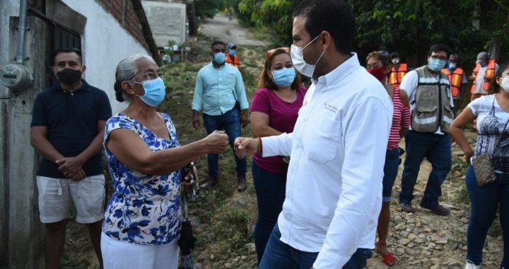 Obras como nunca antes en Zihuatanejo con administración de Jorge Sánchez Allec