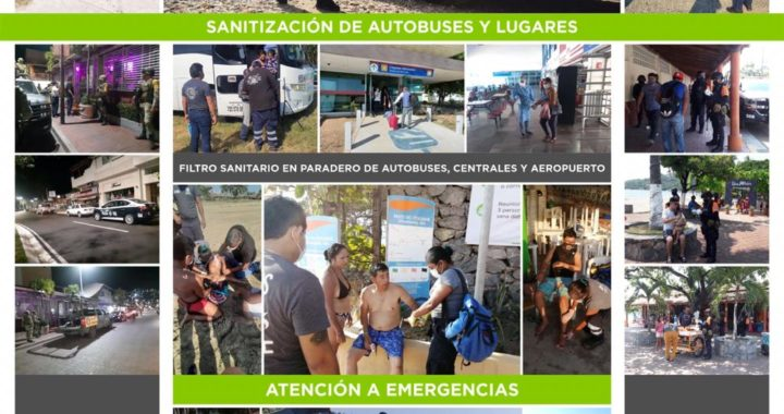 Acciones preventivas implementadas en Zihuatanejo