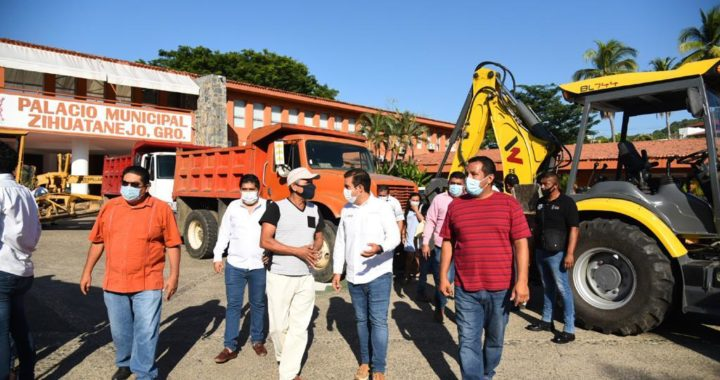 Inicia rehabilitación histórica de caminos por parte de gobierno del presidente Jorge Sánchez