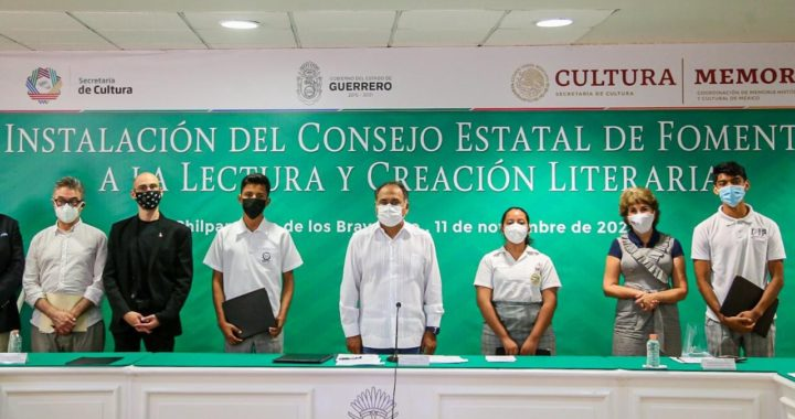 """INSTALA HÉCTOR ASTUDILLO EL CONSEJO ESTATAL DE FOMENTO A LA LECTURA Y ENTREGÓ PREMIOS A LOS GANADORES DEL CONCURSO """"CUENTOS VIAJEROS"""