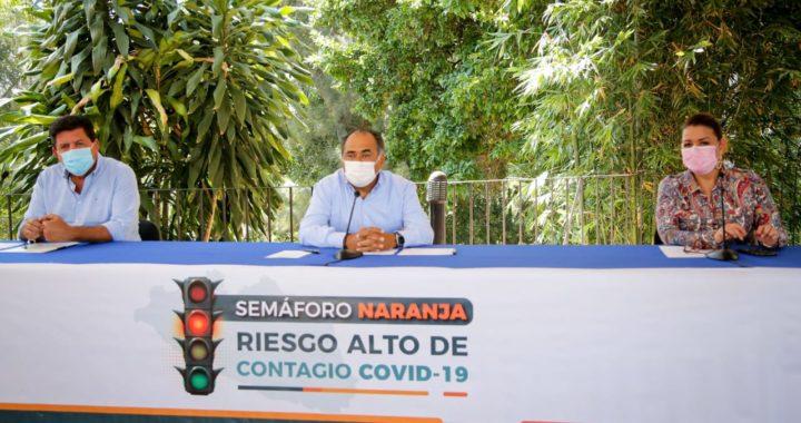 FESTIVIDADES RELIGIOSAS MULTITUDINARIAS SE CANCELARON PARA EVITAR CONTAGIOS, INFORMA HÉCTOR ASTUDILLO