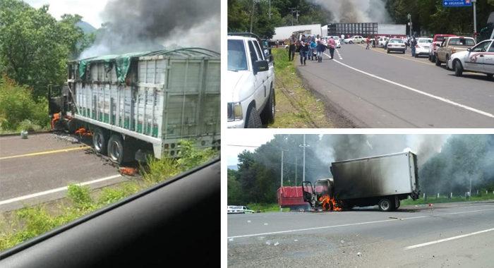 Suspenden siete rutas de autobuses en Michoacán por bloqueos, enfrentamientos e inseguridad