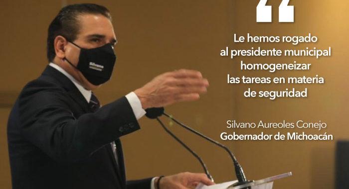 Silvano a Morón: Ahora resulta que le interesa la seguridad en Morelia, es su interés electoral