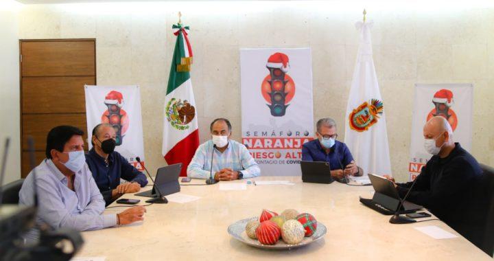 TERMINA SEMÁFORO DIFERENCIADO Y GUERRERO INICIA 2021 EN COLOR NARANJA; ESTABILIDAD EN INDICADORES COVID-19
