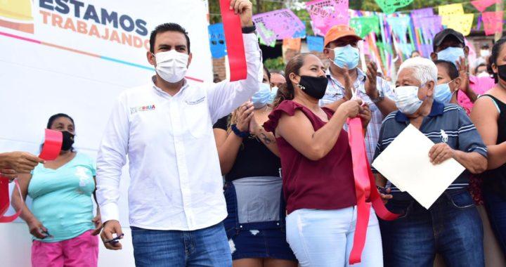 Este es el gobierno que necesitaba la gente de Zihuatanejo: habitantes de la colonia Convergencia