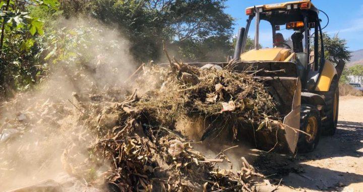 Atención inmediata y retiro de basureros clandestinos por parte de administración de Jorge Sánchez Allec