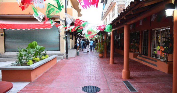 El centro de la ciudad luce con nuevas obras por parte de la administración de Jorge Sánchez