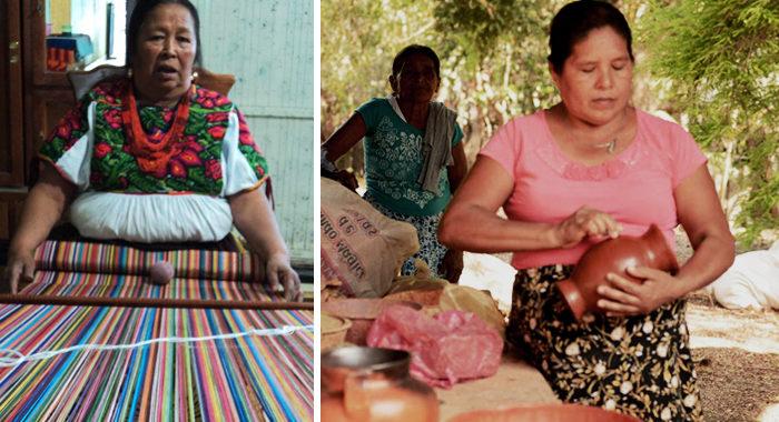 Alfareras, textileras… las mujeres artesanas son un orgullo de Michoacán