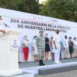 Conmemora Gobierno de Zihuatanejo el 200 Aniversario de la creación de la bandera nacional