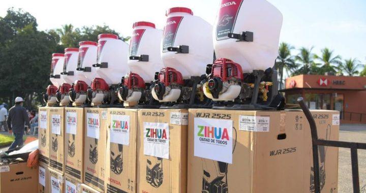 El campo de Zihua se atiende como nunca