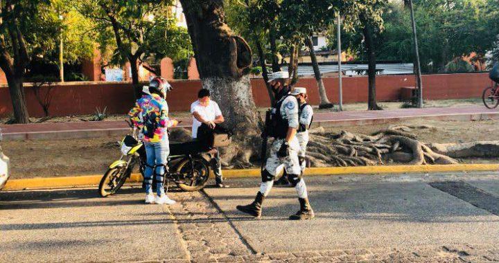 PARA BAJAR ROBOS, ASALTOS Y DETECTAR AUTOS ROBADOS GUARDIA NACIONAL AUMENTA OPERATIVOS EN ZIHUATANEJO