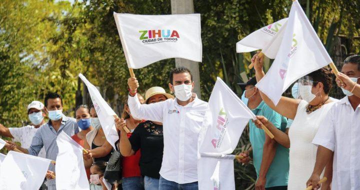 Los Llanitos tendrá nueva carretera pavimentada; anunció el presidente Jorge Sánchez