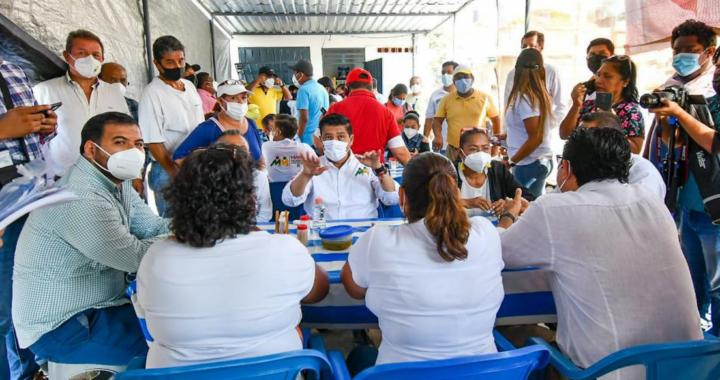 Instituto del Transporte y brindar seguridad social, plantea Mario Moreno a Transportistas*