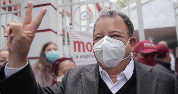 Luis Walton asegura que aunque Morena no lo acreditó como precandidato ante el INE pero que declaró personalmente sus egresos ante dicho organismo