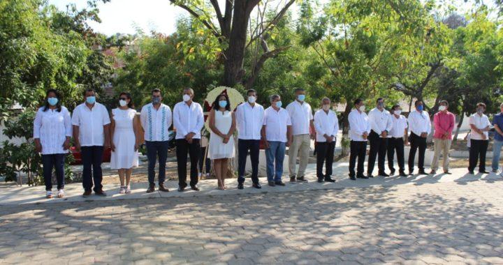 Conmemora el gobierno municipal de Tecpan el 259 aniversario del natalicio del general Hermenegildo Galeana