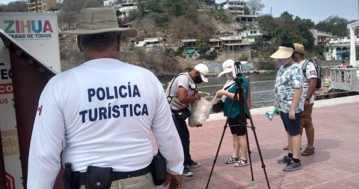 Gobierno de Zihuatanejo al pendiente para evitar incidentes que lamentar entre turistas