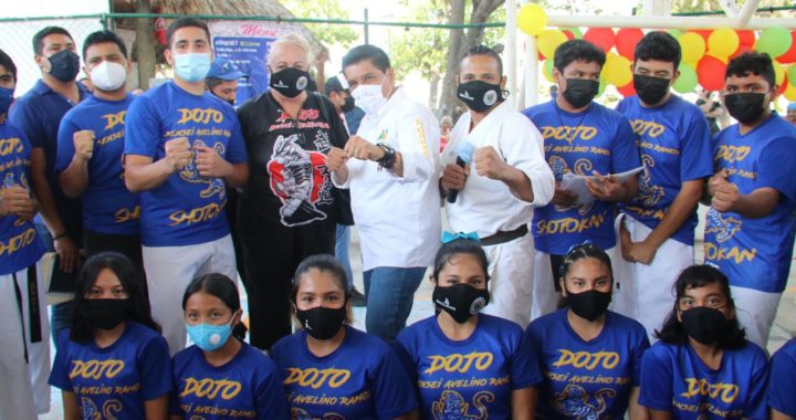 Mario Moreno se compromete ante organizaciones apoyar con todo al deporte en Guerrero
