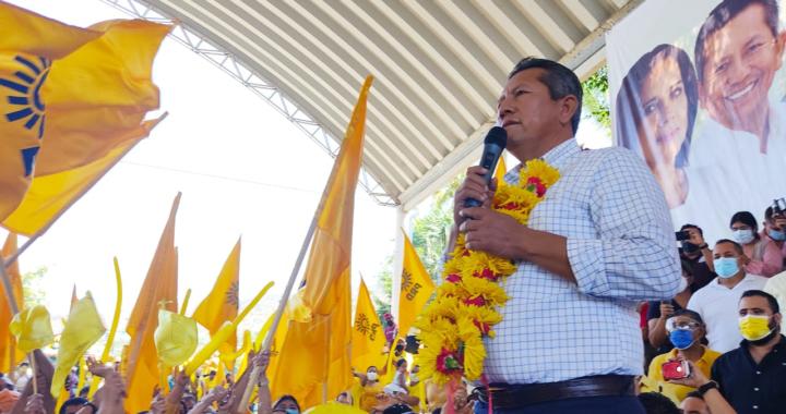 Las y los guerrerenses necesitan que estemos unidos, afirmó Carlos Reyes Torres en su arranque de campaña como candidato a la diputación local del Distrito XII