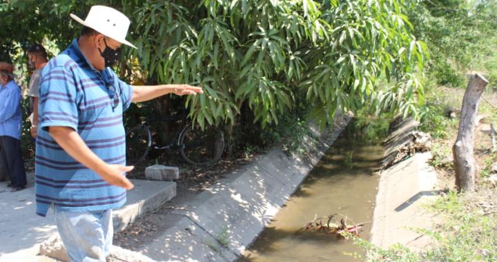 Campesinos de Tenexpa se quejan contra administrador del agua de riego