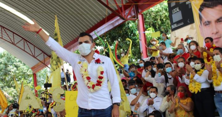 Abre campaña Yasir en busca de la reelección en Tecpan