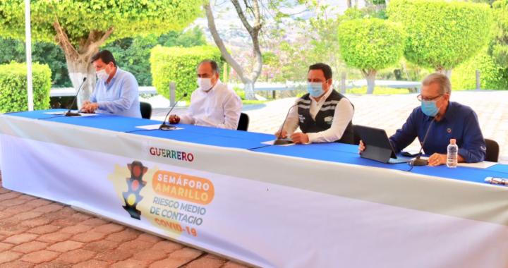 Esta semana quedarán cubiertos los 81 municipios con la vacuna anti Covid para adultos mayores: Héctor Astudillo
