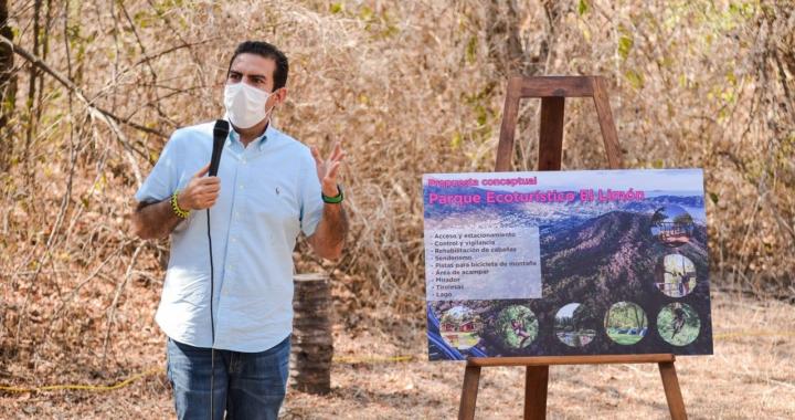 Parque Ecoturístico El Limón, un atractivo más para Zihuatanejo: Jorge Sánchez