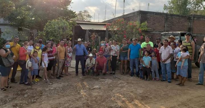 Crescencio Reyes visita Chutla de Nava y el Ramal de Chutla