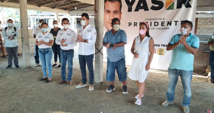Reciben a Yasir Deloya y a Graciela González en Parada de Puerto y Buena Vista