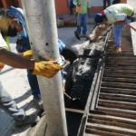 CAPAZ y áreas operativas del gobierno municipal intensifican trabajos en primeras lluvias