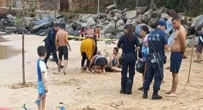 Padre salva a su hijo de ser arrastrado por el mar, pero pierde la vida por el agotamiento