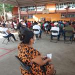 Se agota vacuna Astra Zeneca en Técpan; cientos quedan sin recibirla