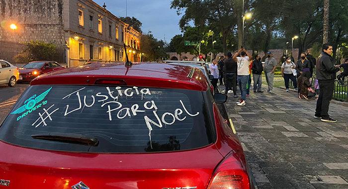 Pasajero asesina a chofer de Uber en Morelia; conductores de apps exigen justicia