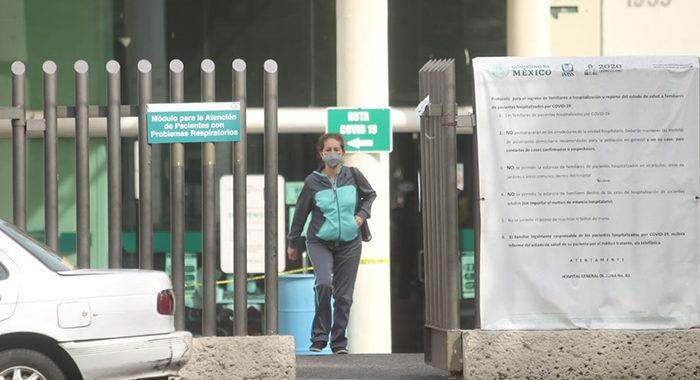 Ante aumento de contagios, IMSS reconvierte de nuevo el Hospital de Camelinas en Hospital COVID-19