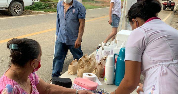 Crece altruismo contra Covid 19; a sanitizaciones se suman servicios médicos en municipio de Zihuatanejo