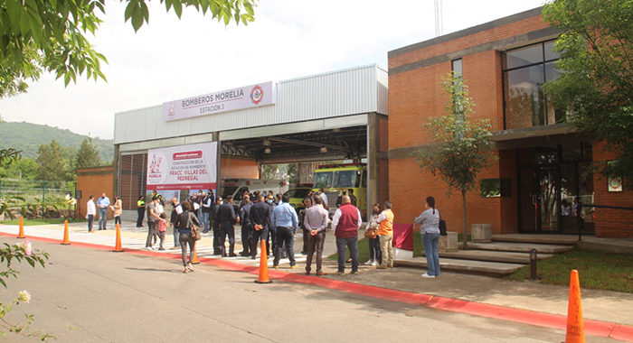 Por fin zona poniente de la ciudad tiene Estación de Bomberos; hoy se inauguró en Villas del Pedregal