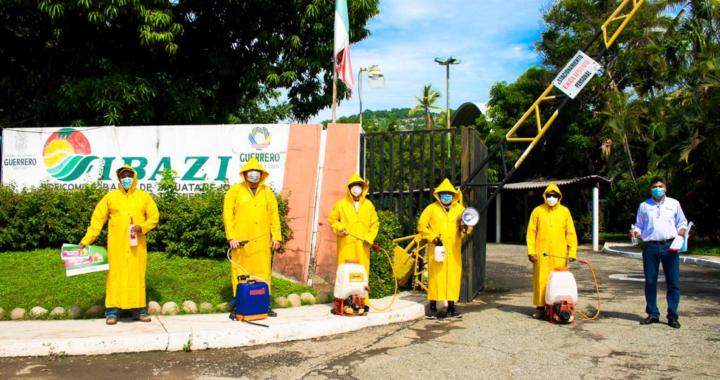 Reactivan módulos de sanitización y brigadas de concientización en playas de Acapulco y Zihuatanejo por semáforo Rojo en Guerrero