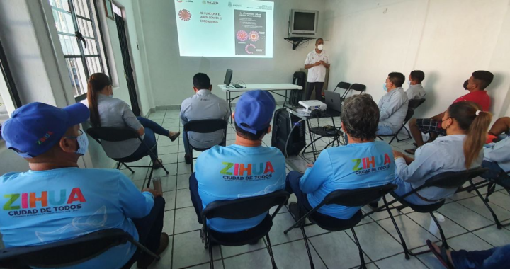 CAPAZ refuerza información sobre el COVID -19 a trabajadores