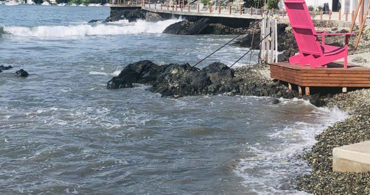 Mar de fondo afecta playas de Ixtapa y Zihuatanejo.