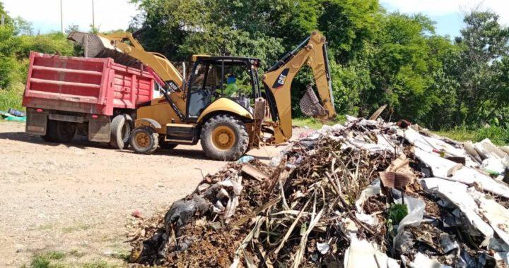 Se retiran 47 basureros a cielo abierto en lo que va del año 2021 por parte de gobierno de Zihuatanejo