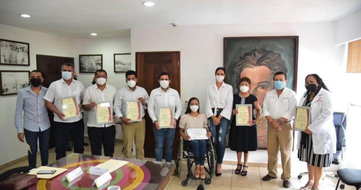 Zihuatanejo de Azueta recibe Certificado como Municipio Promotor de la Salud