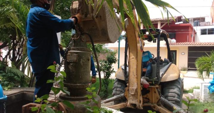 CAPAZ realiza mejoras al cárcamo pluvial Faroles
