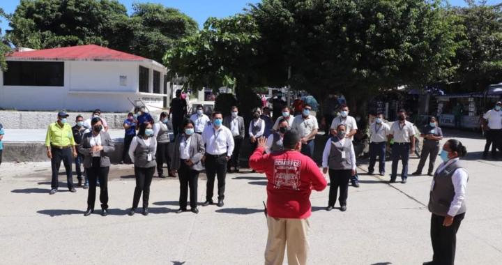 Conmemoran en Tecpan aniversarios del sismo del 85 y del 2017