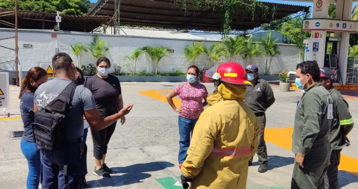 Gobierno de Zihuatanejo participa en Segundo Simulacro Nacional de Sismo 2021
