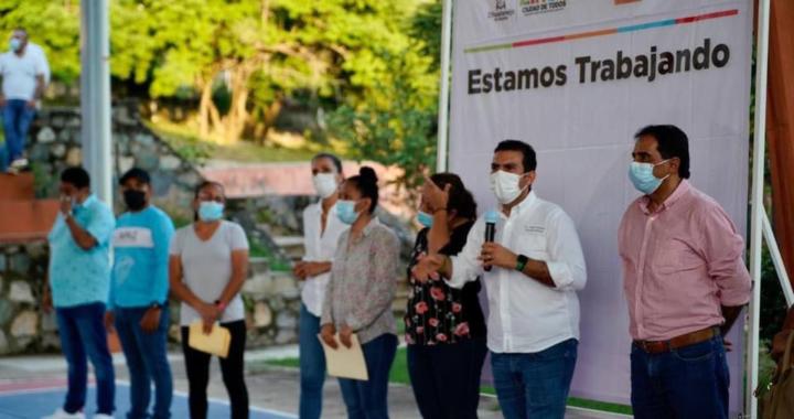 Gobierno de Jorge Sánchez inicia con la remodelación de parque en el Infonavit El Hujal