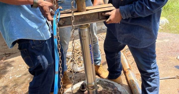 CAPAZrestablece servicio de agua potable a 2500 habitantes en Barrio Nuevo