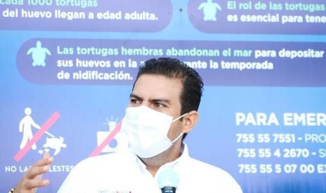 Gobierno de Jorge Sánchez fortalece impulso al cuidado de la tortuga marina.